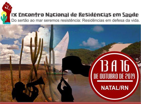 IX Encontro Nacional de Residências em Saúde
