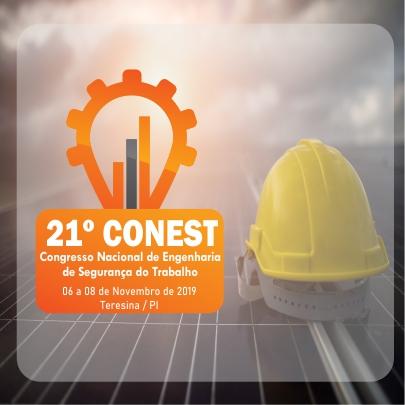 21º Congresso Nacional de Engenharia de Segurança do Trabalho