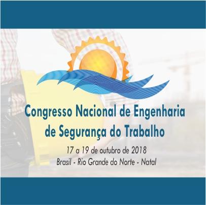 20º Congresso Nacional de Engenharia de Segurança do Trabalho