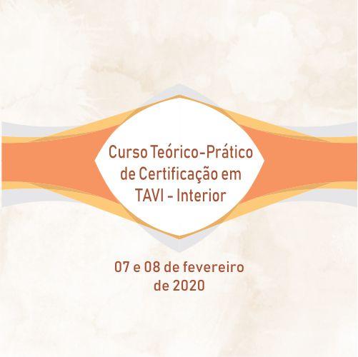 Curso de Certificação em TAVI – Interior
