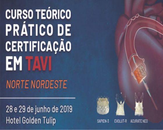 I Curso Teórico-Prático de Certificação em TAVI Norte Nordeste