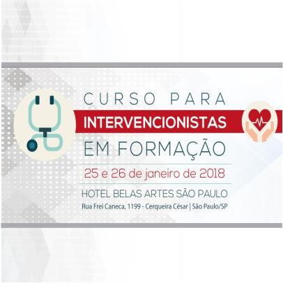 Curso para Intervencionista em Formação – 2018