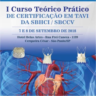 I Curso Teórico Prático de Certificação em TAVI